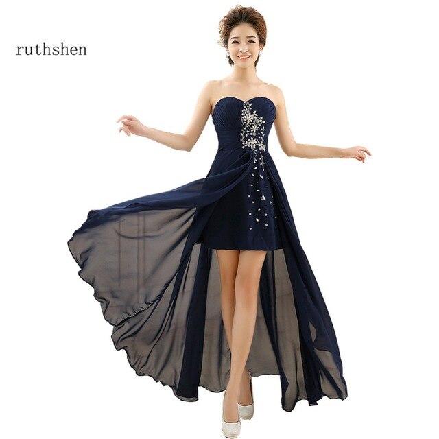 Ruthshen Azul Nueva Prom Piedras Vestidos Barato Marino Con 2018 1lFKcJ