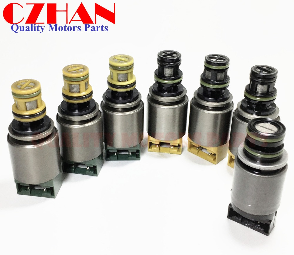 Transmission solenoids kit 7pc set for BMW X3 X5/Audi 6 Speed A6 A8 Q7  1068298045 6HP19 6HP26 6HP32 ZF6HP19 ZF6HP26-in Automatic Transmission &  Parts from ...
