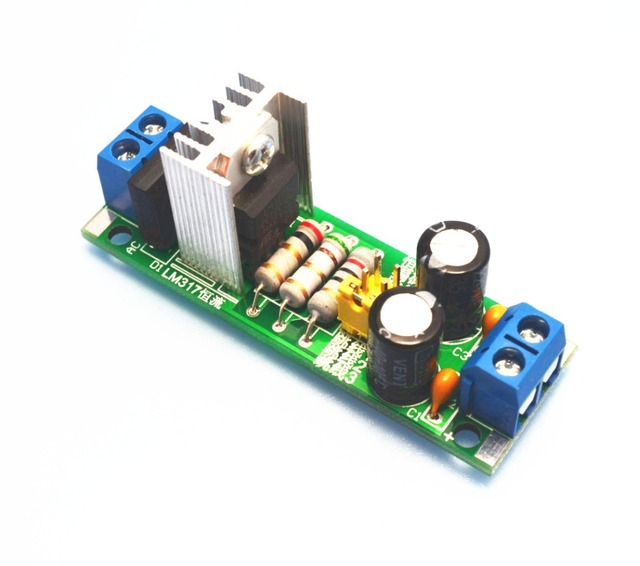 US $4 64 10% OFF 1PC LM317 adjustable linear buck power module constant  current source 62 577ma-in Earphone Accessories from Consumer Electronics  on