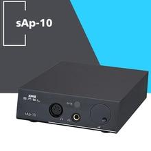 NOVA SMSL SAP-10 Saldo Total Amplificadores de Fone De Ouvido Amplificador de Fones De Ouvido fonte de Alimentação Linear de Alta Potência AMP TPA6120A2 * 2 220 V/110 V