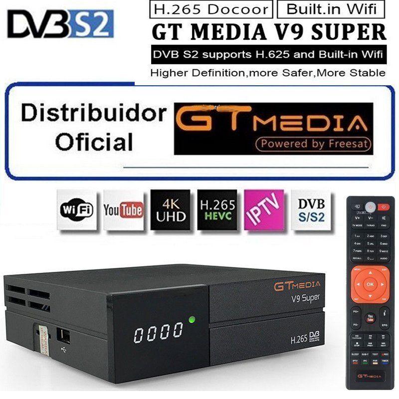 GTmedia V9 Super Mehr als Freesat V8 Super V8 NOVA DVB-S2 Satellite TV Empfänger Rezeptor Decoder + 1 Jahr 4 linien Europäischen CCcam