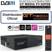 GTmedia V9 Super More than Freesat V8 Super V8 NOVA DVB-S2 Satellite TV Receiver Receptor Decoder +1 Year 4 lines European CCcam