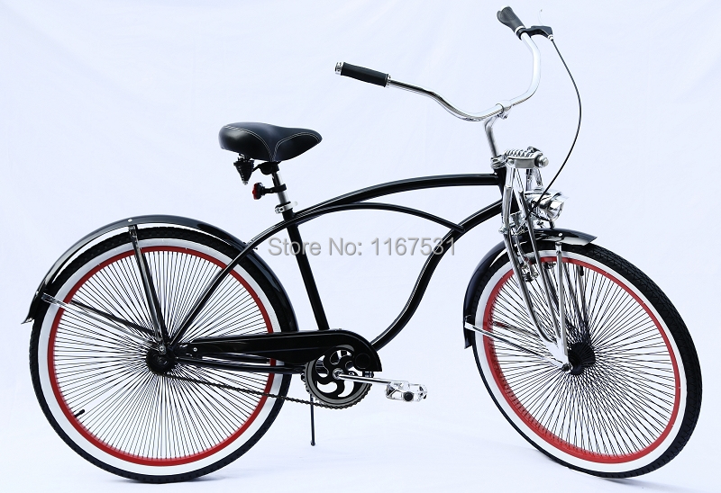 A OK Bicycle factory,lowrider fork,26 mens beach bike,KT coaster ...
