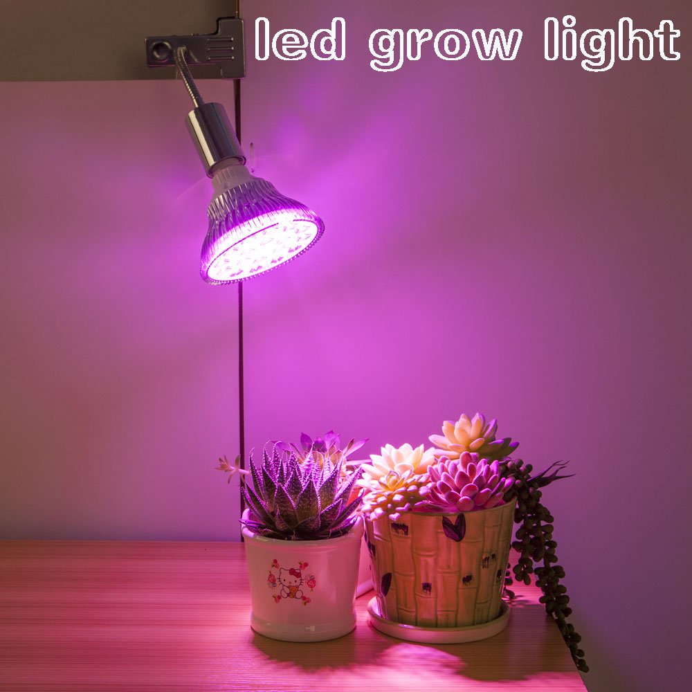 Lamp Plant Us 32 8 Grow Lamp With Clip Full Spectrum Grow Light For Indoor Plant Grow Plant Light Sun Bulb Led Growth Light For Desktop Plants In Led Grow