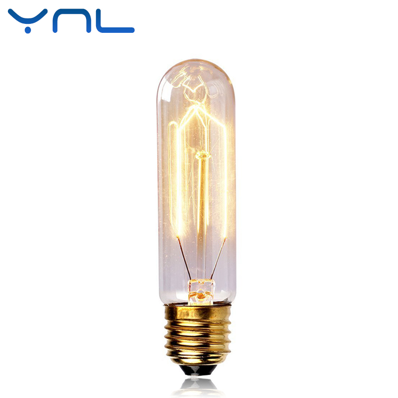 Ynl new vintage edison bulb t10 a19 light lamp ac 220v e27 for T lamp light bulbs