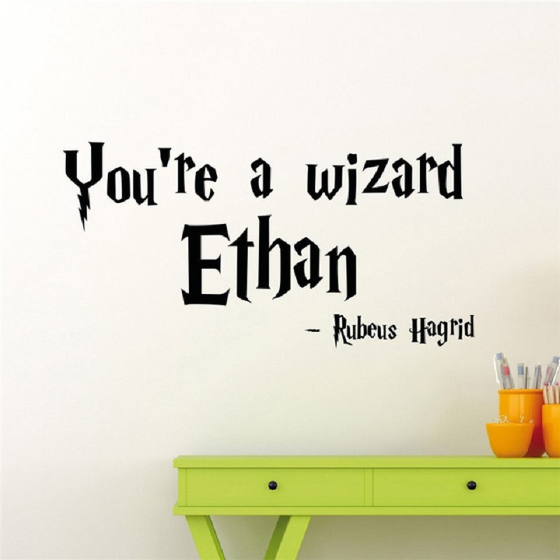 Magic Custom Made Quote Harry Potter Vinyl Wall Stickers