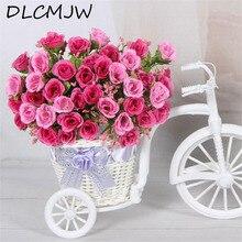 Искусственные цветы, шелковые искусственные цветы для свадьбы, украшения дома, сада, искусственные растения