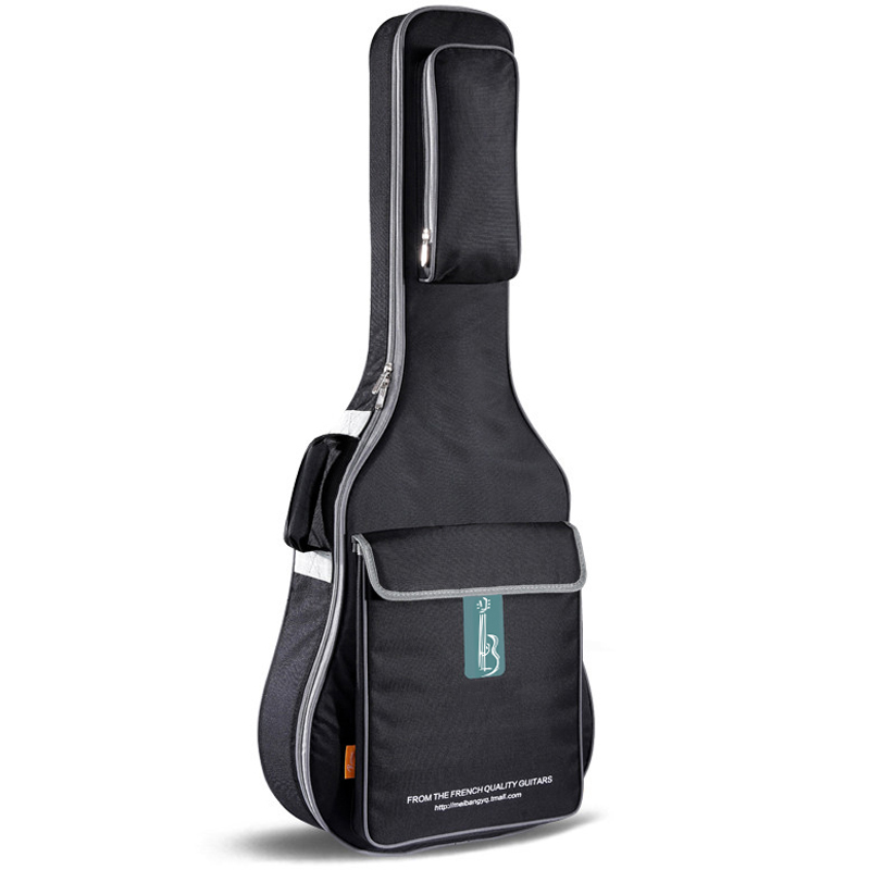 ФОТО Freight free 40 inch 41 inch waterproof guitar bag, high-grade waterproof canvas folk guitar cases, practical guitar backpack