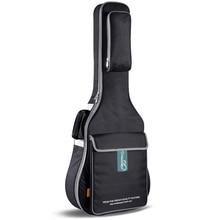 40 дюймов 41 дюймов водонепроницаемый гитара сумка, Высокая — класс водонепроницаемый холст народная гитара чехол, Практическая гитара рюкзак