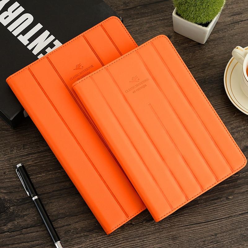 Cheng Jia estilo coreano Notebook A5 B5 Pu cuero notas escolares - Blocs de notas y cuadernos
