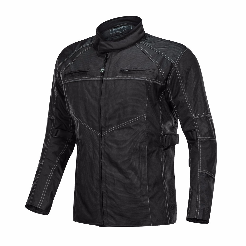 2018 Men's Jacket Waterproof motorcycle jacket Oxford Fabric black sporty motorcycle jacket racing motorbike motos jacket
