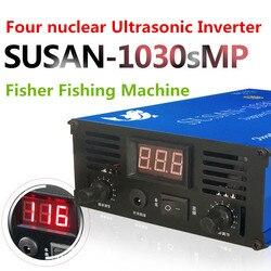 Inversor ultrasónico de alta potencia cuatro Kit de potenciador de energía eléctrica de pesca de pescador máquina de pesca eléctrica Y