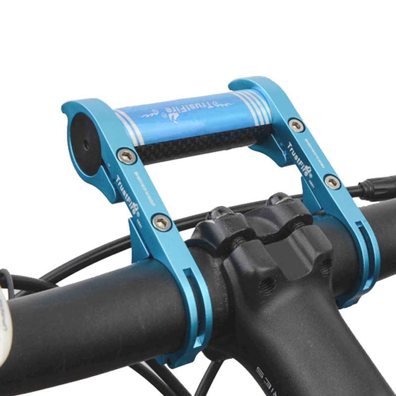 Bisikleti MTB bisiklet bisiklet gidon yeni HE01 uzatma dağı genişletici tutucu işık lambası el feneri braketi