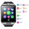 Горячая Q18 Smart Watch Водонепроницаемый Smartwatch Спортивные Часы Наручные Поддержка NFC Sim-карты Камеры Для Samsung Android Телефон PK GT08
