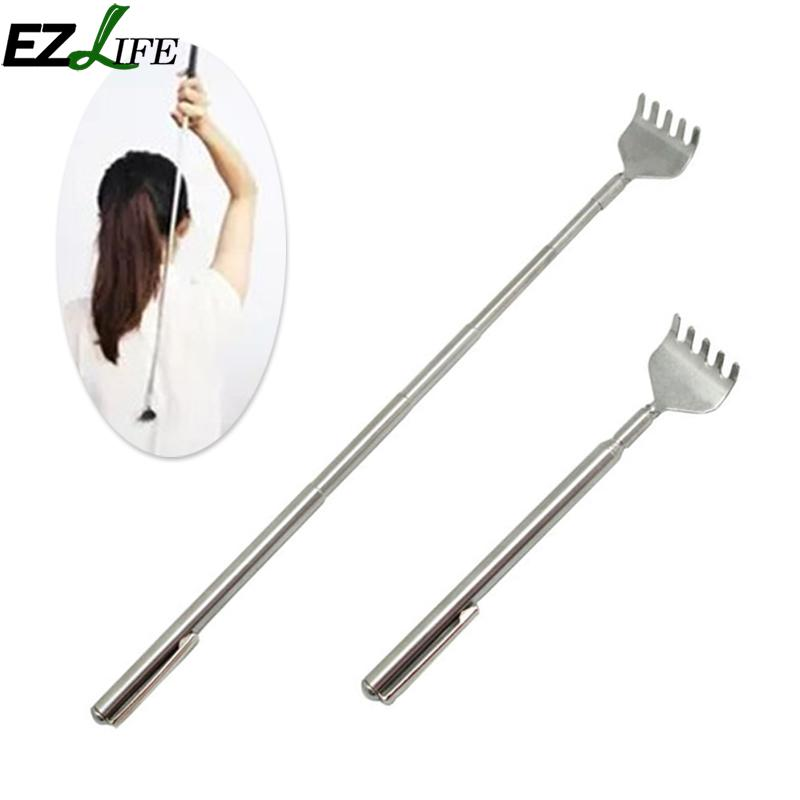 Sae Fortion New Convenient Portable Claw Telescopic Stainless Steel Back Scratcher Extendible Md892