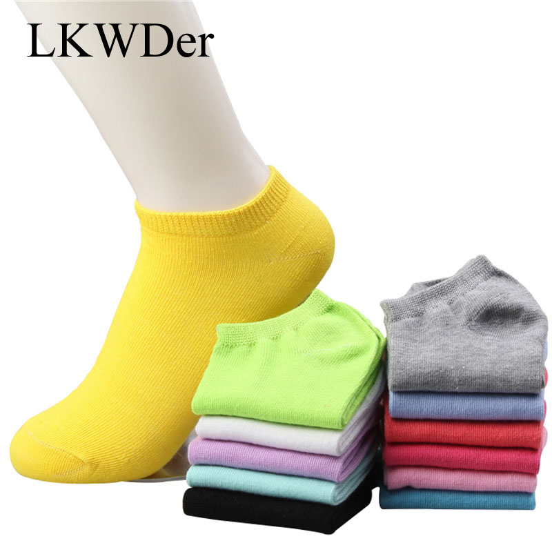 Pack of 6x 12x Ladies Womens Girls Socks Plain Coloured Heel /& Toe Ankle Socks