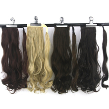 Soowee 10 Colors High Temperature Fiber Synthetic Hair Curly Hairpiece Ponytail Hair Extensions Fake Hair Pony Tail Hair Pieces