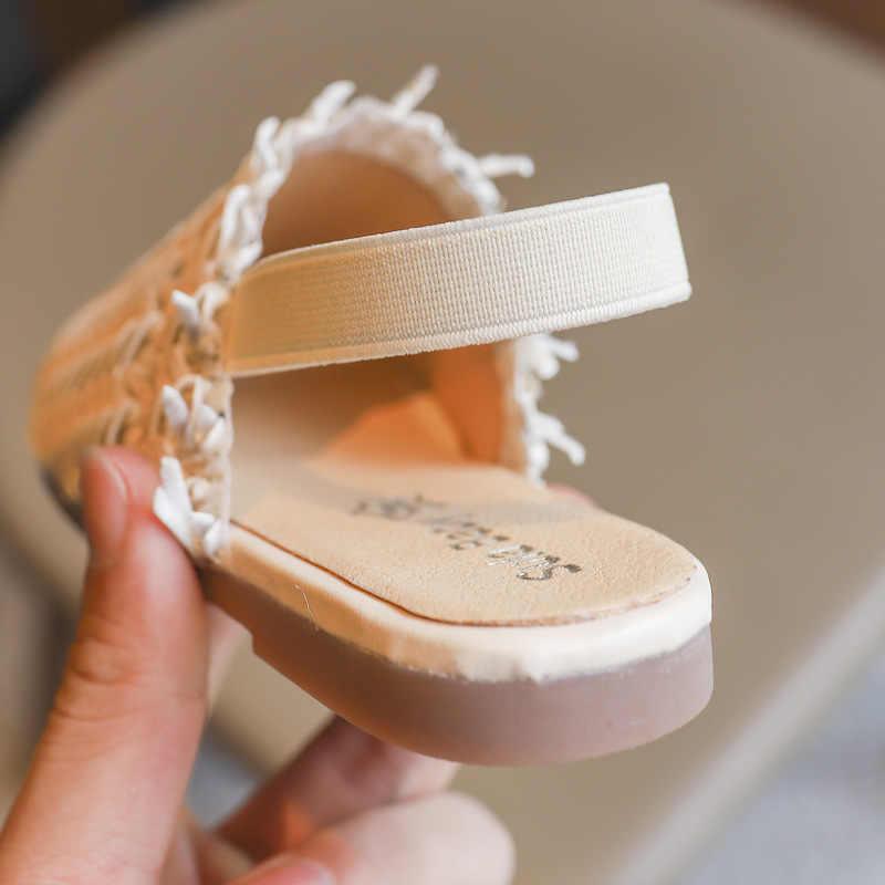 Çocuk Moda Örme Ayakkabı çocuk Esnek Alt Nefes Prenses tek ayakkabı bebek ayakkabısı Unisex