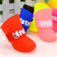 summer-rain-waterproof-pet-yorkie-dog-shoes-for-small-large-breeds-animals-colorful-cats-rubber-silicone-puppies-cats-boots