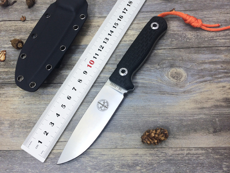 High Quality Pohl Force Lionsteel Fixed Blade font b Knife b font D2 Blade G10 Handle
