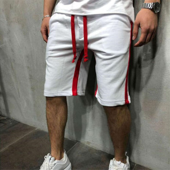 New mens shorts 2019 summer streetwear casual fashion fitness gyms bodybuilding sweatpants