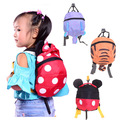 2016 New Cute Baby Kids Keeper Assistant Toddler Walking Wings Safety Harness Backpack Bag Strap Rein Harnesses & Leashes 4Color