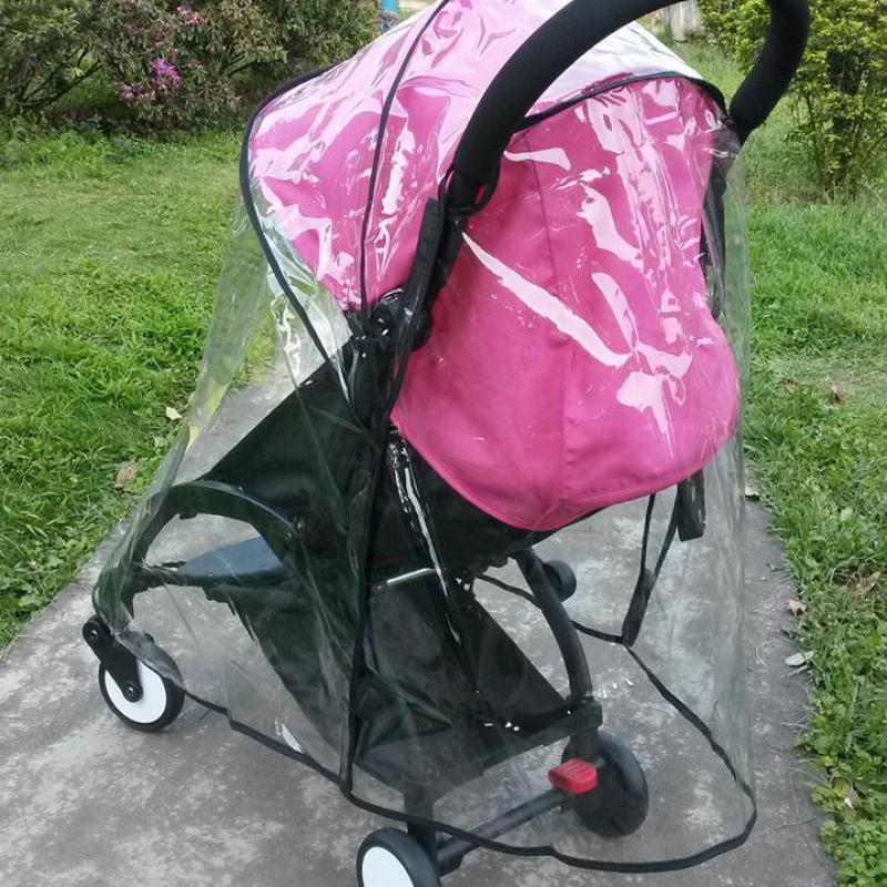 2016 Wholesale Universal Waterproof Rain Cover Wind Dust Shield For Baby Strollers Pram  For Babyzen Yoyo Yuyu Yoya Kissbaby