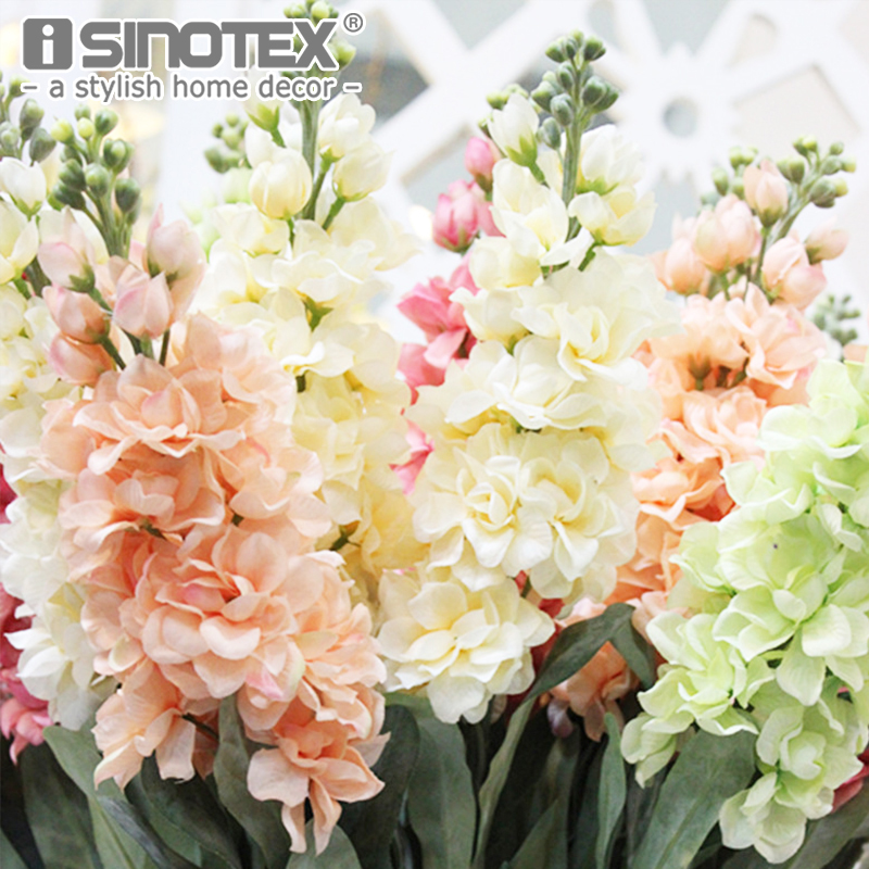 ISINOTEX Fake Silk Artificial Flowers Home Decoration 1PCS