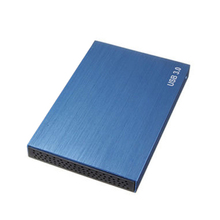 SATA USB 3.0 SATA 2.5″ HD HDD HARD DISK DRIVE ENCLOSURE EXTERNAL CASE BOX BLUE