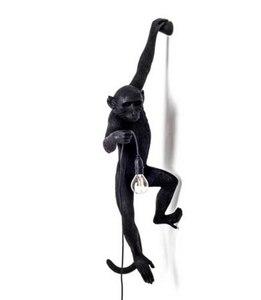 Image 5 - Modern Resin Monkey Loft Vintage Hemp Rope Pendant Light For Home Dining Room Bar Cafe Retro Hanging Lighting Lamp hanging lamp