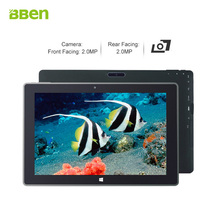 Bben 10.1inch windows10 tablet pcs quad cores 2-in-1 computer 2.0MP dual camera with intel z8350 processor 4GB/64GB