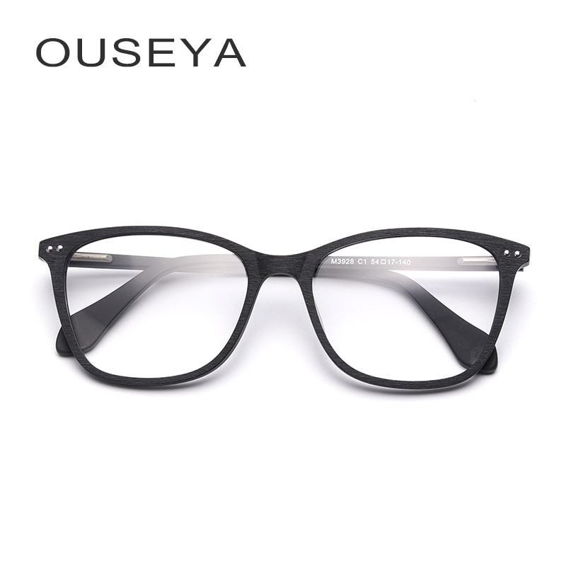 7b49b1afa8e Acetate Prescription Glasses Men Vintage Blue Ray Rivet Aspherical  Astigmatism Lens Transition Anti Blue Light Spectacles  M3928-in Prescription  Glasses ...