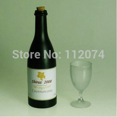 Floating Airborne Wine and Glass,Electric Version (Bottle and Cup) - Magic Tricks,Stage,Props,Accessories,Gimmick,Funny