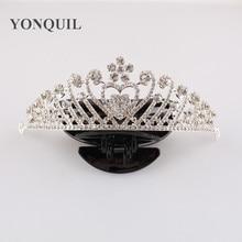 Free shipping Bridal Crystal Tiara Wedding Hair Accessories Jewelry Tiara And Crowns wedding princess headwear 3pcs
