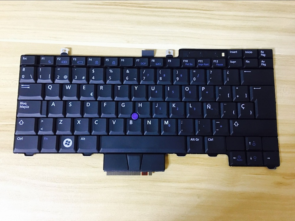 New  keyboard for Dell Latitude E5300 E5400 E5500 E5410 E5510  SP/Spain /FR/French layout 2048mb pc2 5400 5300 667mhz ddr2 купить