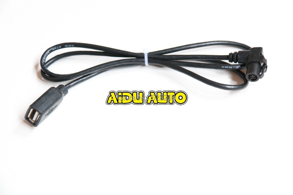 RCD510 <font><b>USB</b></font> Cable For <font><b>VW</b></font> <font><b>Golf</b></font> <font><b>5</b></font> 6 Jetta CC Tiguan Passat image