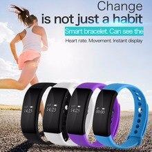 V66 SmartBand Bluetooth Спорт Смарт часы IP67 Водонепроницаемый сердечного ритма Мониторы браслет Электроника для здоровья браслет для iOS и Android