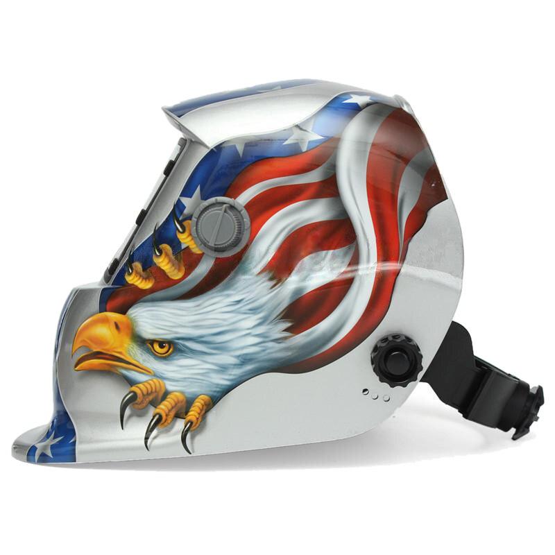 Mask HLZS Mask Welding Automatic Welding Shield Solar Welding Helmet Welding