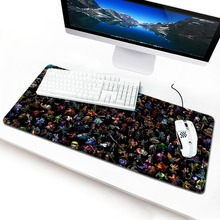 locrkand virtus pro padmouse  to mouse notbook computer mousepad LOL Custom gaming mouse pad gamer to laptop mouse mat