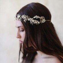 2016 Baroque crown Gold/Silver handmade rhinestone headband vintage bridal hair accessories headwear accessories crown and tiara