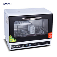 CXWJ001 220V50HZ Full Automatic Household Dishwasher Small Desktop Disinfection And Drying Integrated Bowl Washing Machine 980W