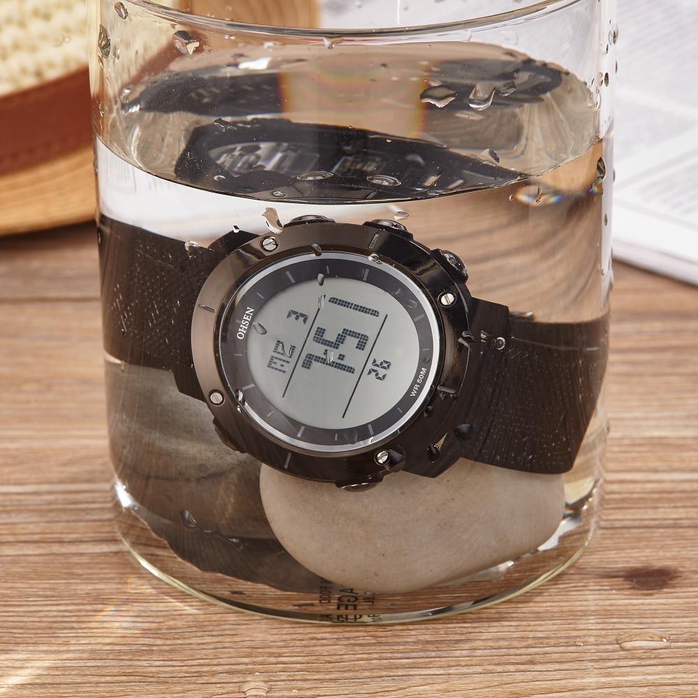 OHSEN Moda Wodoodporny Stoper Army LED Cyfrowy zegarek Człowiek - Męskie zegarki - Zdjęcie 6