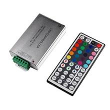 цена на RGB LED Controller Dimmer DC12V with 24 / 44 Key IR Remote 144W For RGB LED Strip Light SMD3528 20m 5050 10m