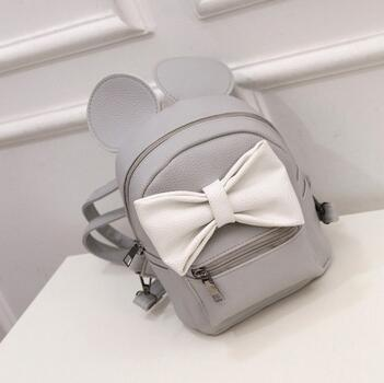 Gray Whiet Bow