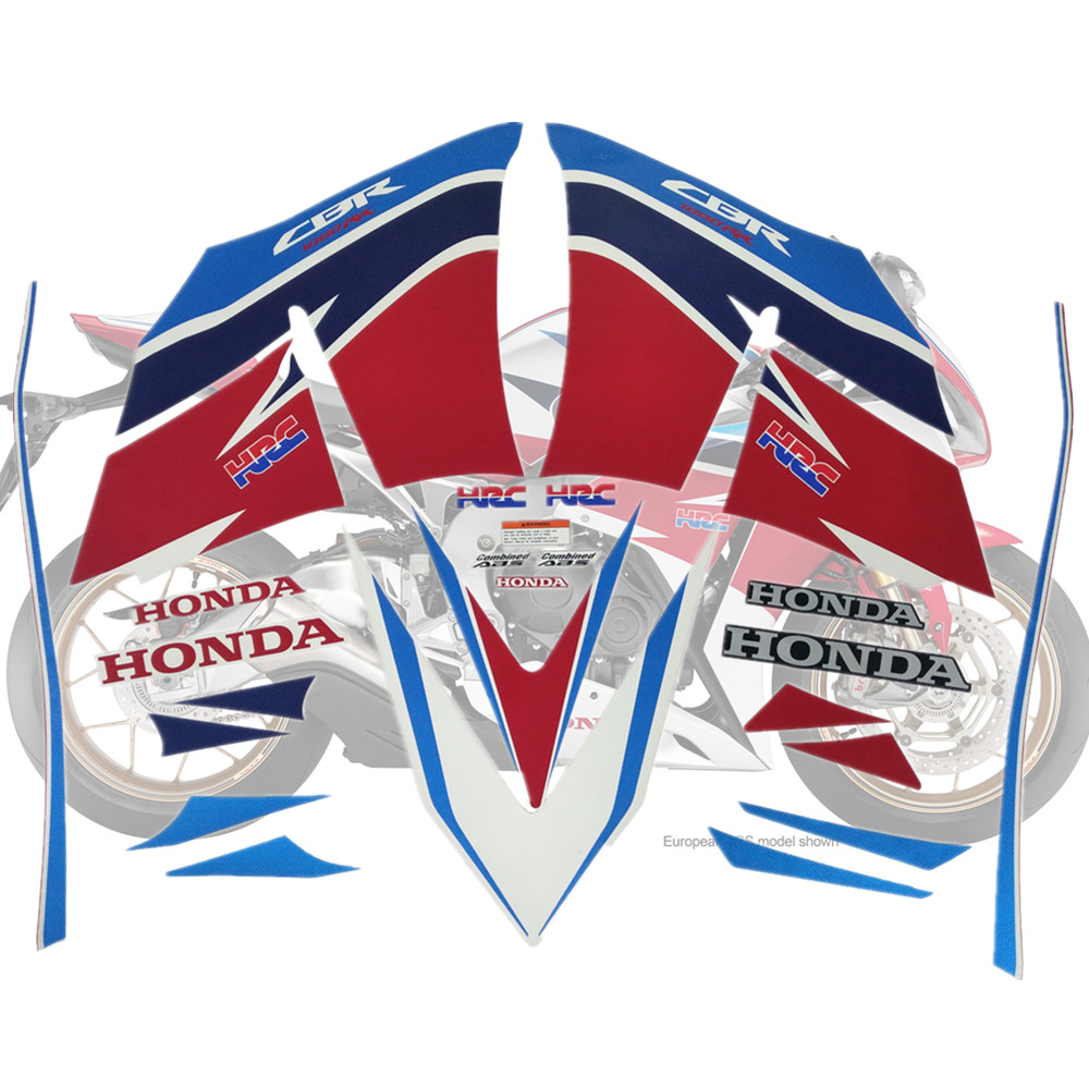 Motorcycle For Honda CBR1000RR 12-14 CBR 1000 RR 2012-2014 CBR1000 Fairing Sticker Kit Applique High Quality Whole Vehicle Decal