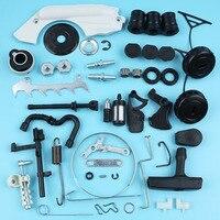 Chain Brake Cover Adjuster Intake Manifold AV Buffer Pawls Kit For Stihl 017 MS170 018 MS180 Chainsaw Fuel Line Filter Bearing