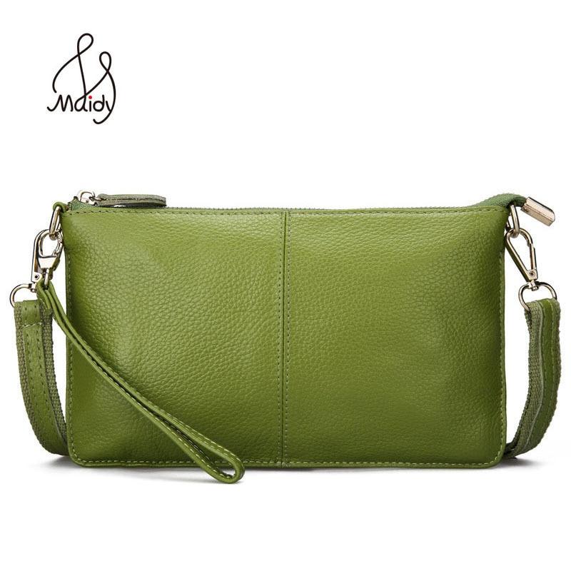 Famosos bolsos de diseñador Mujeres Messenger Cuero de vaca genuino Flap de cuero clásico Bolso de la cartera Embrague Pequeño Bolso del hombro Wristlet