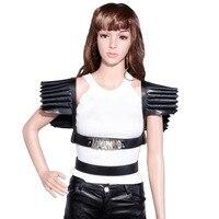 GARTER COLLAR HARNESS, detachable adjustable sexy body harness custom personalized sweet split leather belt chest strap