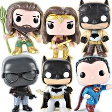 2018 NEW DC Wonder Woman Aquaman Knightmare Batman Superman Action POP Figure with Opp Bag