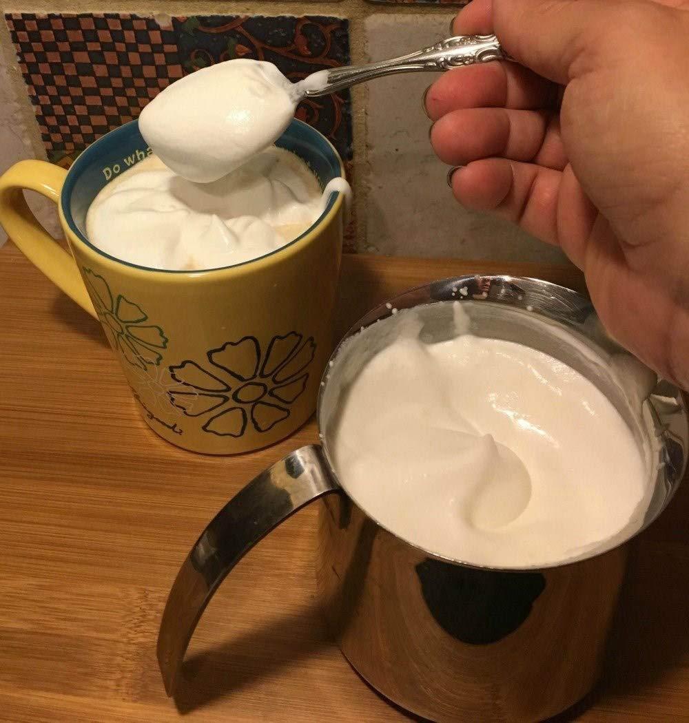 Для молочных коктейлей, электрический ручной пеновзбиватель для молока с двойной венчик из нержавеющей стали головы для капуччино, Bulletproof